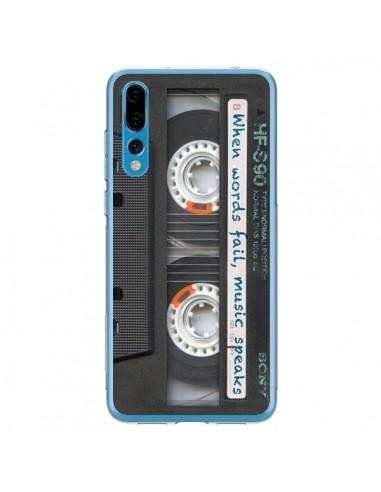 Coque Huawei P20 Pro Cassette Words K7 - Maximilian San