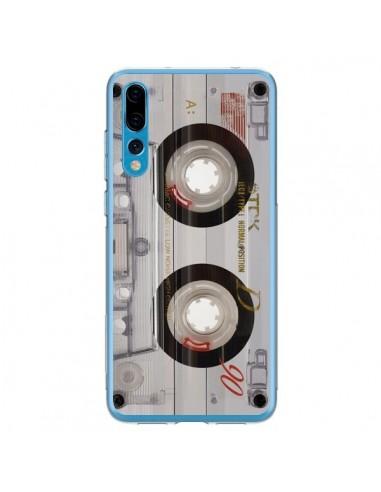 Coque Huawei P20 Pro Cassette Transparente K7 - Maximilian San
