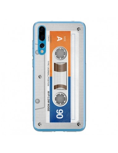 Coque Huawei P20 Pro White Cassette K7 - Maximilian San