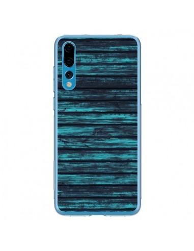 Coque Huawei P20 Pro Blue Moon Wood Bois - Maximilian San