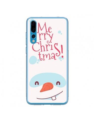 Coque Huawei P20 Pro Bonhomme de Neige Merry Christmas Noël - Nico