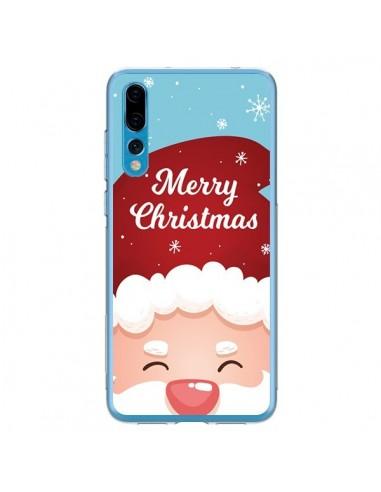 Coque Huawei P20 Pro Bonnet du Père Noël Merry Christmas - Nico