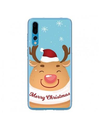 Coque Huawei P20 Pro Renne de Noël Merry Christmas - Nico