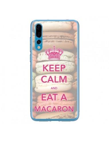 Coque Huawei P20 Pro Keep Calm and Eat A Macaron - Nico