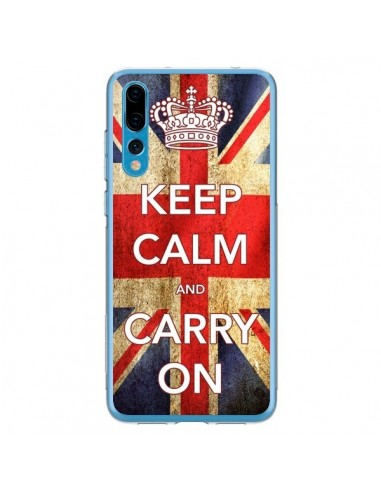 Coque Huawei P20 Pro Keep Calm and Carry On - Nico