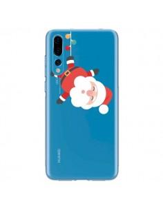 Coque Huawei P20 Pro Père Noël et sa Guirlande transparente - Nico