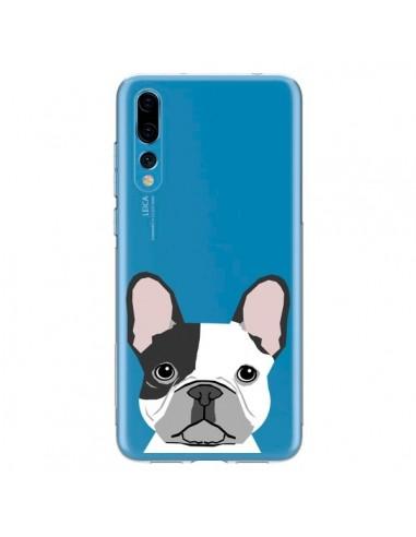 Coque Huawei P20 Pro Bulldog Français Chien Transparente - Pet Friendly
