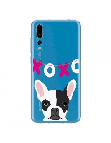 Coque Huawei P20 Pro Bulldog Français XoXo Chien Transparente - Pet Friendly