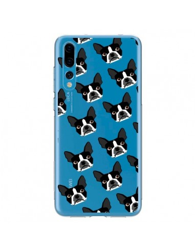 Coque Huawei P20 Pro Chiens Boston Terrier Transparente - Pet Friendly