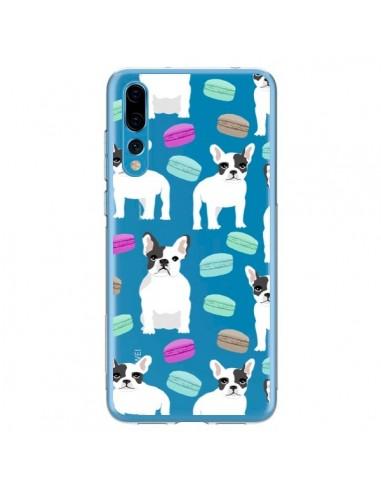 Coque Huawei P20 Pro Chiens Bulldog Français Macarons Transparente - Pet Friendly