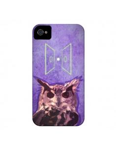 Coque Chouette Owl Spirit pour iPhone 4 et 4S - Jonathan Perez