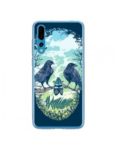 Coque Huawei P20 Pro Tête de Mort Nature - Rachel Caldwell