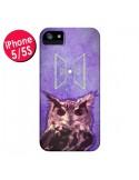 Coque Chouette Owl Spirit pour iPhone 5 et 5S - Jonathan Perez