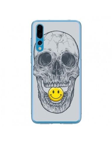 Coque Huawei P20 Pro Smiley Face Tête de Mort - Rachel Caldwell