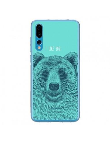 Coque Huawei P20 Pro Bear Ours I like You - Rachel Caldwell