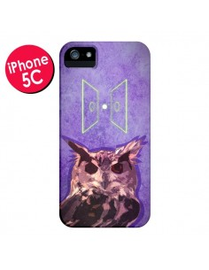 Coque Chouette Owl Spirit pour iPhone 5C - Jonathan Perez
