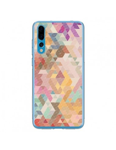 Coque Huawei P20 Pro Azteque Pattern Triangles - Rachel Caldwell