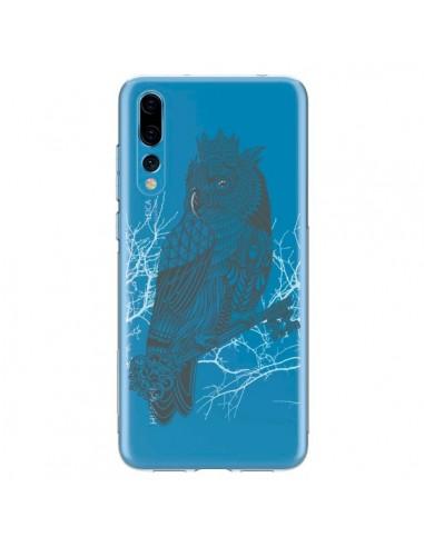 Coque Huawei P20 Pro Owl King Chouette Hibou Roi Transparente - Rachel Caldwell
