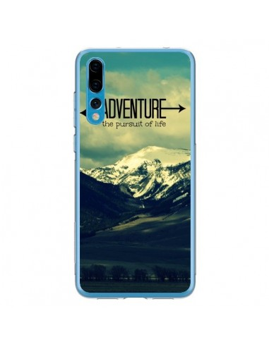 Coque Huawei P20 Pro Adventure the pursuit of life Montagnes Ski Paysage - R Delean