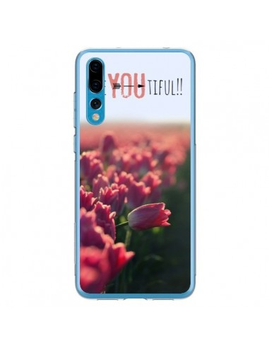Coque Huawei P20 Pro Be you Tiful Tulipes - R Delean