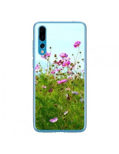 Coque Huawei P20 Pro Fleurs Roses Champ - R Delean