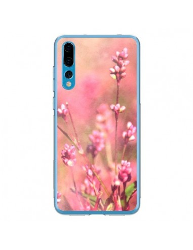 Coque Huawei P20 Pro Fleurs Bourgeons Roses - R Delean