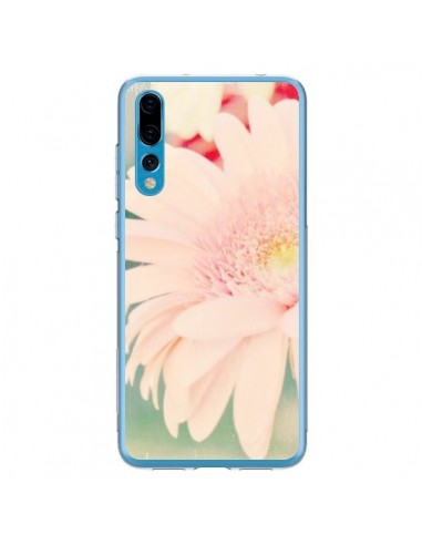 Coque Huawei P20 Pro Fleurs Roses magnifique - R Delean