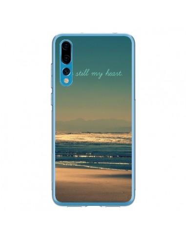 Coque Huawei P20 Pro Be still my heart Mer Sable Beach Ocean - R Delean