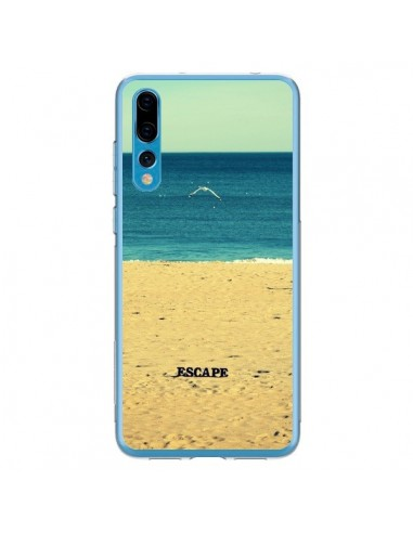 Coque Huawei P20 Pro Escape Mer Plage Ocean Sable Paysage - R Delean
