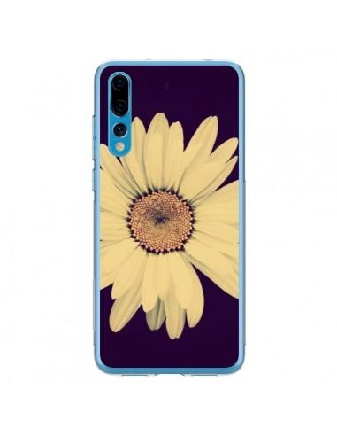 Coque Huawei P20 Pro Marguerite Fleur Flower - R Delean