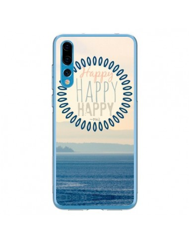 Coque Huawei P20 Pro Happy Day Mer Ocean Sable Plage Paysage - R Delean
