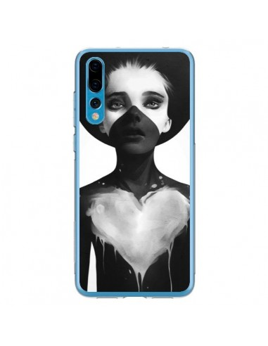 Coque Huawei P20 Pro Fille Coeur Hold On - Ruben Ireland