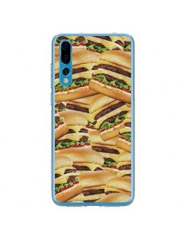 Coque Huawei P20 Pro Burger Hamburger Cheeseburger - Rex Lambo