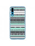 Coque Huawei P20 Pro Azteque Aztec Bleu Pastel - Rex Lambo