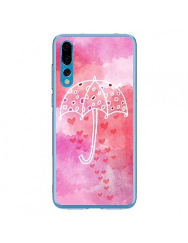 Coque Huawei P20 Pro Parapluie Coeur Love Amour - Sylvia Cook