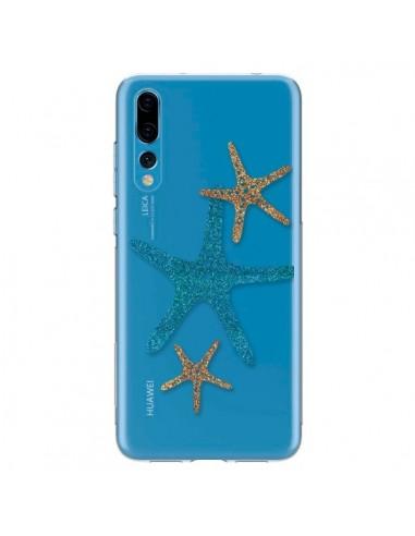 Coque Huawei P20 Pro Etoile de Mer Starfish Transparente - Sylvia Cook