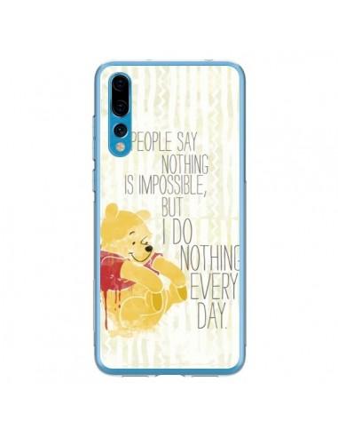 Coque Huawei P20 Pro Winnie I do nothing every day - Sara Eshak