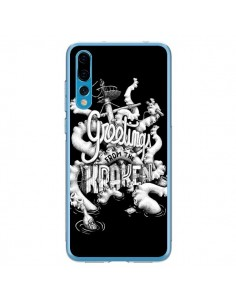 Coque Huawei P20 Pro Greetings from the kraken Tentacules Poulpe - Senor Octopus