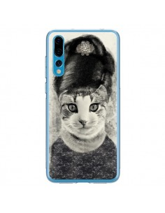 Coque Huawei P20 Pro Audrey Cat Chat - Tipsy Eyes