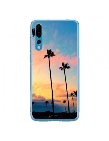 Coque Huawei P20 Pro California Californie USA Palmiers - Tara Yarte