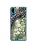 Coque Huawei P20 Pro Get lost with him Paysage Foret Palmiers - Tara Yarte