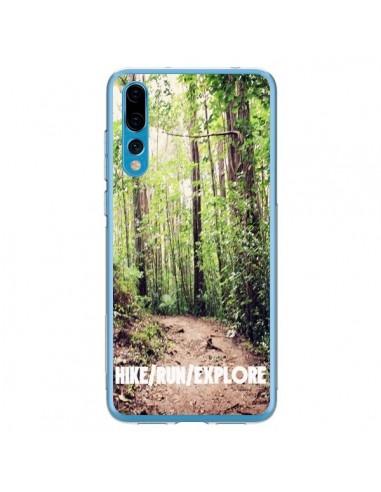 Coque Huawei P20 Pro Hike Run Explore Paysage Foret - Tara Yarte
