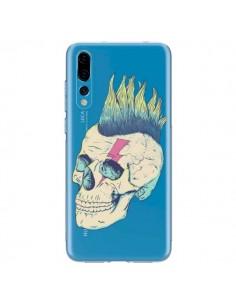 Coque Huawei P20 Pro Tête de Mort Crane Punk Transparente - Victor Vercesi