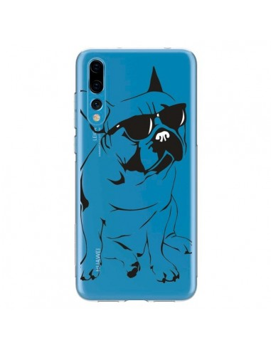 Coque Huawei P20 Pro Chien Bulldog Dog Transparente - Yohan B.