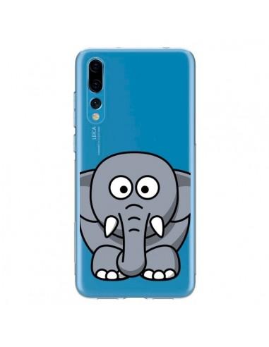 Coque Huawei P20 Pro Elephant Animal Transparente - Yohan B.