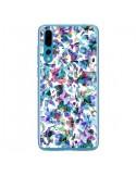 Coque Huawei P20 Pro Aquatic Flowers Blue - Ninola Design