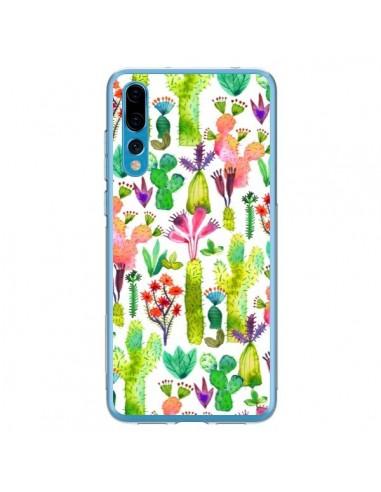 Coque Huawei P20 Pro Cacti Garden - Ninola Design
