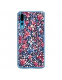 Coque Huawei P20 Pro Colorful Little Flowers Navy - Ninola Design