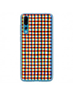 Coque Huawei P20 Pro Crossed Eyes Lines Red - Ninola Design