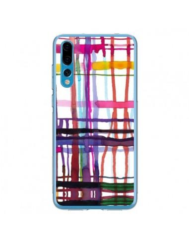 Coque Huawei P20 Pro Little Textured Dots Pink - Ninola Design